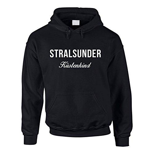 Hoodie Stralsunder Küstenkind Kapuzenpullover Küste Meer Deutschland
